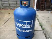 Calor 15kg Butane Cylinder with gas