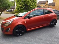 Vauxhall Corsa 1.3CDTi ecoFlex 16v Limited Edition 3 door £20 Road Tax 1 Owner Dealer FSH Low Mile
