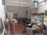 Space in a Beautiful, Bright Hackney Studio