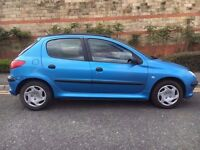 Diesel Peugeot 206 5Doors Manual With 12 Month MOT ONLY 70000 Mills PX Welcome