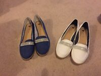 2 pairs of flat shoes * BRAND NEW *