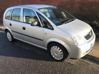 Vauxhall Meriva Life 1.6 petrol Excellent condition