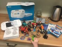 Wii U Console with 19 Disney Infinity Characters - *ALL BOXED IDEAL XMAS PRESENT*