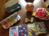 Leapfrog vtech Bundle toddler toys excellent condition Santa Christmas present