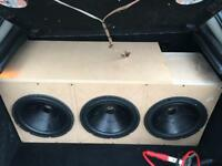 "JBL GT5 12"" Subwoofers / Subwoofer Box(Not amp,bass,subwoofer,audio)"