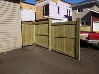 FALL FENCE SPECIAL. 6X6X10FT POSTS ONLY $75 EACH.
