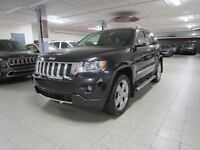 2012 Jeep Grand Cherokee OVERLAND 4X4 *CUIR/TOIT PANO/NAV/GROUPE