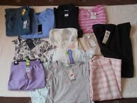 Brand New Bundle, Ladies Clothes, Tops, Trousers, Nightware, Absolute Bargain At £30.