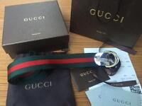 Gucci GG Canvas Belt D Ring