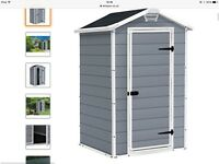 Brand New 4x3 Keter Outdoor Storage Shed