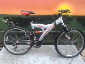 Apollo CREED Full Suspension Adults Mountain Bike