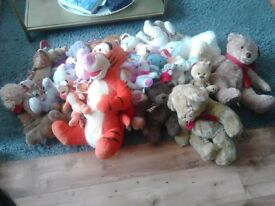 Mixed soft toys