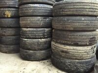 Used tyres - used truck tyres - part worn truck tyres for export