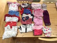 Girls 6-9 months clothing bundle