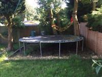 14 feet Trampoline in good condition - german make - Trimilin Brand