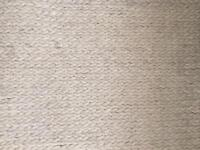 Pure wool knit rug large