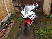 YZF-R125 White Unrestricted 150cc Learner legal