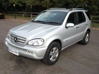 Quick Sale!(54) Mercedes ML 270 CDI ML270 Special Edition FSH HPI CLEAR Sat Nav BLUETOOTH