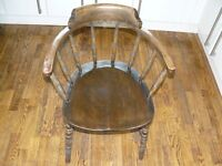 Antique Captains / Smokers Chair