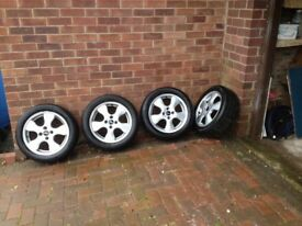 Silver alloys with tyres
