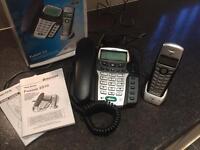 Binatone answer machine set with cordless phone
