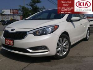 2016 Kia Forte LX+ |WARRANTY|ALLOY|HEATED SEAT|CRUISE