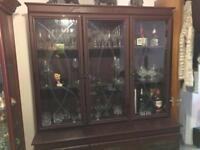 Wooden display cabinet/dresser