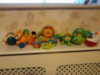 Baby/Toddler Toys Bundle. Coniston of 8 Toys. Vetch and Fisher Price