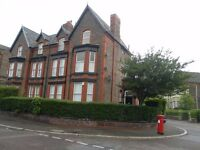 a nice one bed ground fl flat Newsham Park, L6 7UD gch, unfurn, fit kit, must view new decor