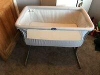 Chicco Next 2 Me Crib - Grey