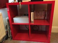 Cube shelf unit £25 ONO