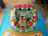 Chicco baby walker vgc
