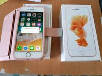 Iphone 6s unlocked with box