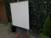 Projector Screen - Fully Portable