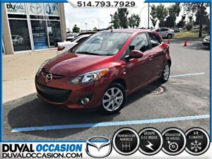 2014 Mazda Mazda2 GS + MAGS + CLIMATISATION + SEULEMENT 31000KM