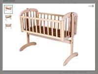 John Lewis swing crib