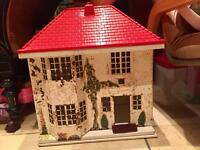 Vintage triang dolls house