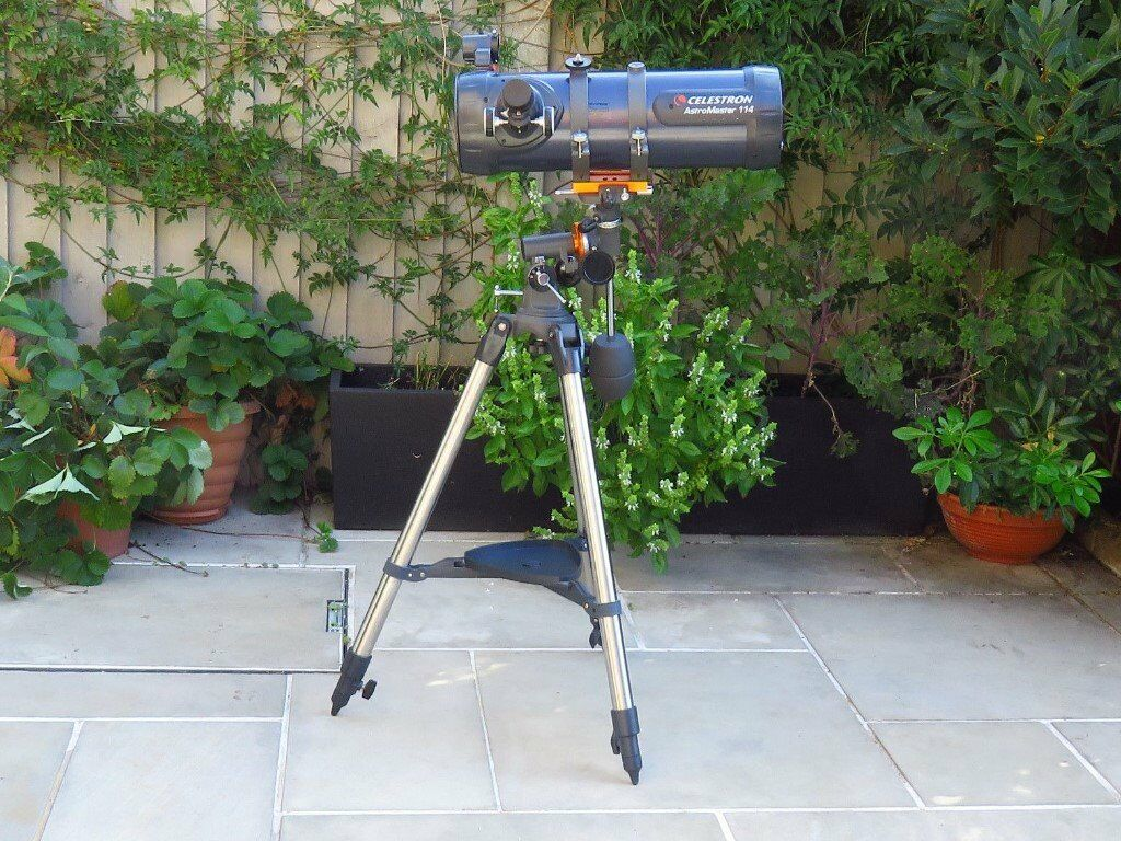 Celestron astromaster eq stargazing astronomy telescope with