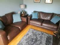 3+2 leather suite