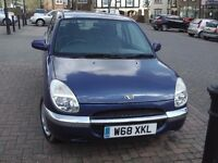 Daihatsu Sirion 2000(W) 1.0 Petrol - NEEDS WELDING FOR MOT - SPARES OR REPAIR