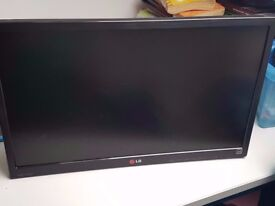 LG Monitor 24 Inch without Adopter Or Charger