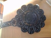 Old fashioned Pot stand with Horoscope signs embossed on top side