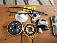 Motorcycle p.m.a.kit for chopper or bobber