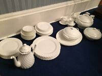 Wedgwood Candlelight 8 piece complete dinner set plus extras