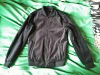 Topman Black Velvet Bomber Jacket