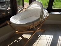 Moses Basket - John Lewis luxury mattress