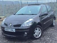 RENAULT CLIO DYNAMIQUE FULL MOT SERVICED 1 OWNER PAN ROOF £30 TAX BLACK