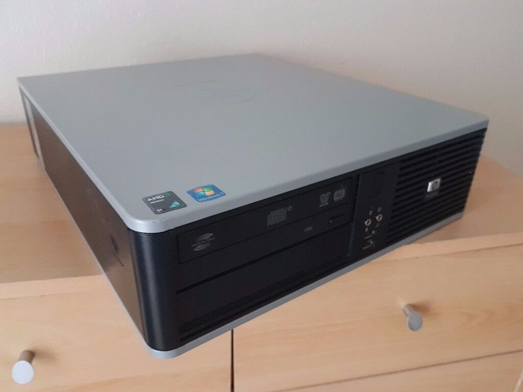 Cheap HP Desktop PC Windows 7 Office 2016 CAN DELIVER FULLY RECONDITIONEDin Syston, LeicestershireGumtree - Here I have a cheap desktop pc ideal for home or business use. Professionally reconditioned, cleaned and tested so buy with confidence. Just plug in and away you go. Nippy Little PC No Offers / Swaps/ Timewasters Please HP Compaq DC5850 Desktop Case...