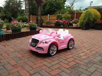 Girls 12v battery car