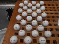 30 Taylor Made golf balls £10